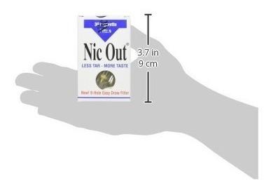 filtro de cigarro  nic-out 30 filtros