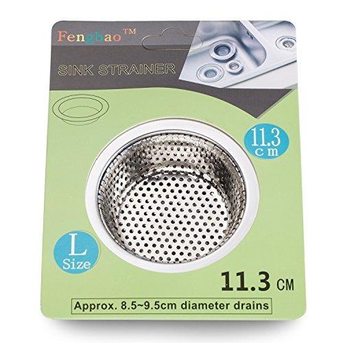 filtro de cocina de acero inoxidable 2pcs - ancho ancho de