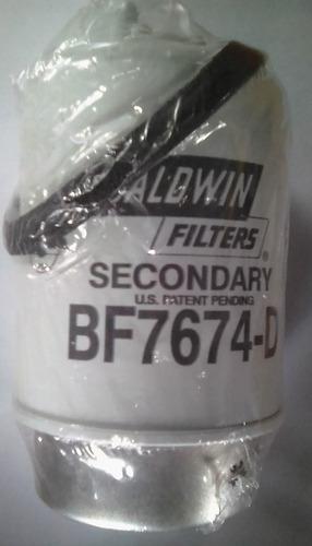 filtro de combustible baldwin bf7674-d (wix 33690) volvo