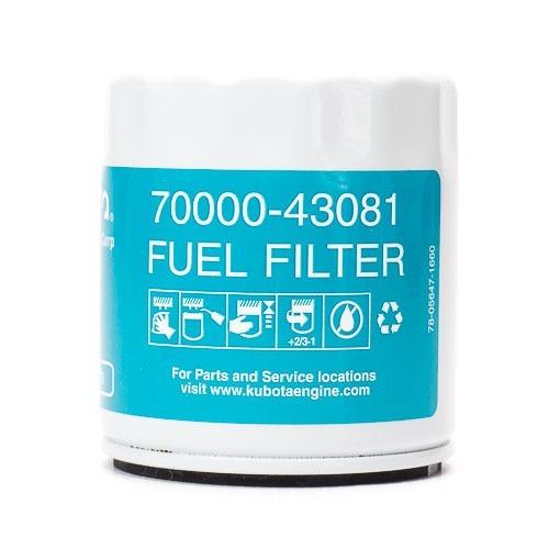 filtro de combustible diesel kubota 70000-43081 motorman