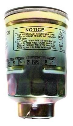 filtro de combustible   eurorepar toyota hilux 2.8 l diesel