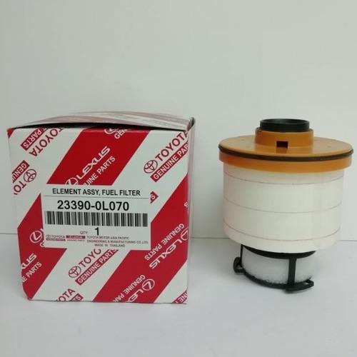 filtro de combustible hilux 2016 - 2019 original toyota