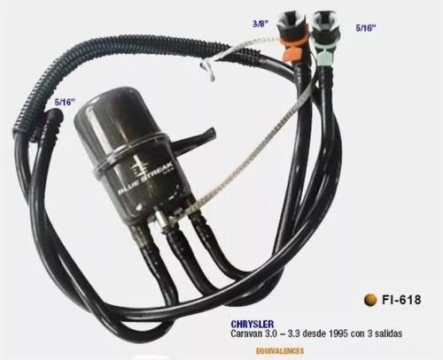 filtro de combustible nafta chrysler caravan 3.0 1995-1997