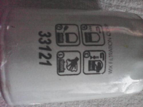filtro de combustible primario wix 33121