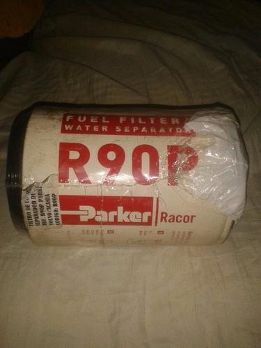 filtro de combustible separador racor r90p parker