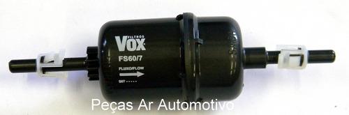 filtro de combustivel fs60/7 / kl420 - ecosport / fiesta
