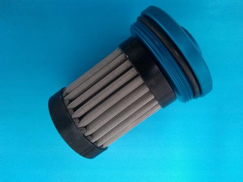 filtro de combustível lavável 12mm elemento inox /anodizado