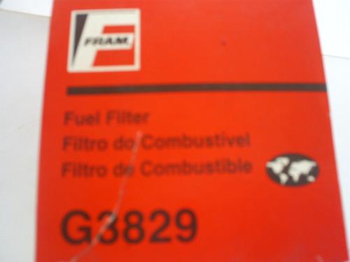 filtro de combustível monza mpfi/kadet gsi 92/ 98 fram g3829