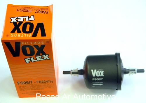 filtro de combustivel vox fs06/7 - astra / zafira / vectra