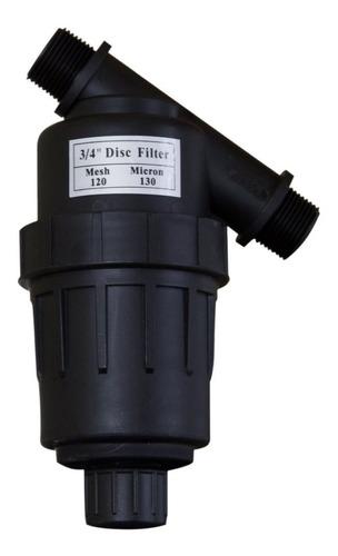 filtro de disco 3/4 pulgadas para riego