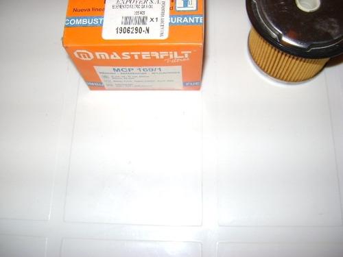 filtro de gas oil peugeot 205-405-306 masterfilt