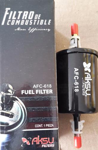 filtro de gasolina afc-618 marca aksu