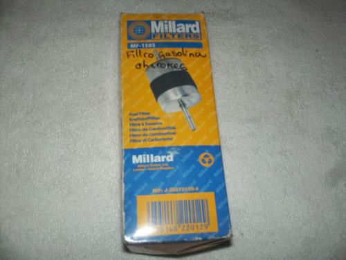 filtro de gasolina grand cherokee millard 1585 precio 5$