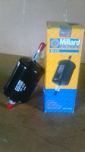 filtro de gasolina millard mf-618 (spark, aveo, optra)