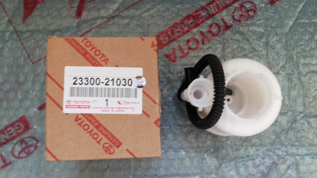 2008 Toyota Corolla For Sale >> Filtro De Gasolina Yaris Corolla 23300-21030 Original ...