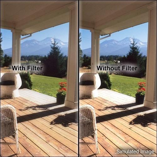 filtro de lente tiffen 44bpm14 black pro-mist 1/4 suavizador