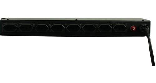 filtro de linha / régua de energia 3300w 19 polegadas