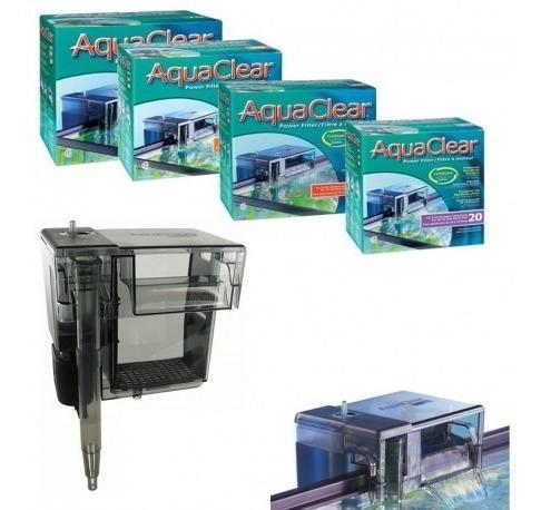 filtro de mochila aquaclear 70 para acuarios de 250l + envío