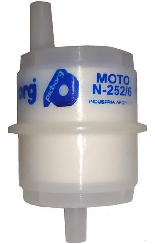 filtro de nafta universal para moto precio por caja 25 unid.