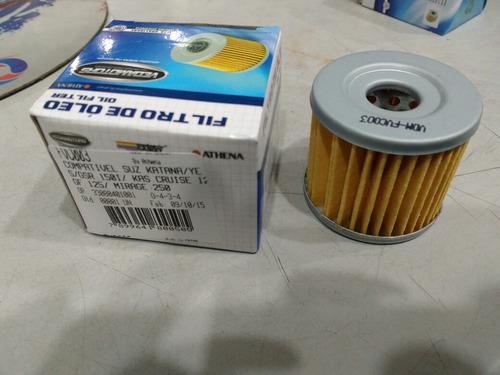 filtro de óleo comet apache 150 katana 125 burgmam 400 yes
