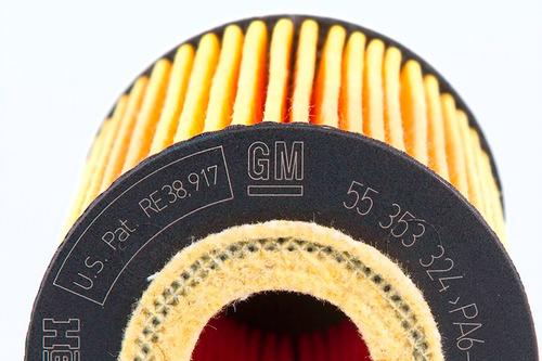 filtro de óleo cruze,tracker,sonic original gm 55594651