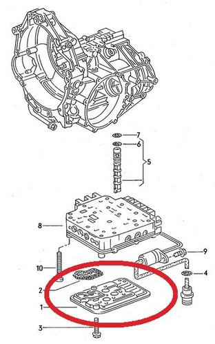 filtro de óleo do câmbio audi cabriolet 2.6 1993 a 2000