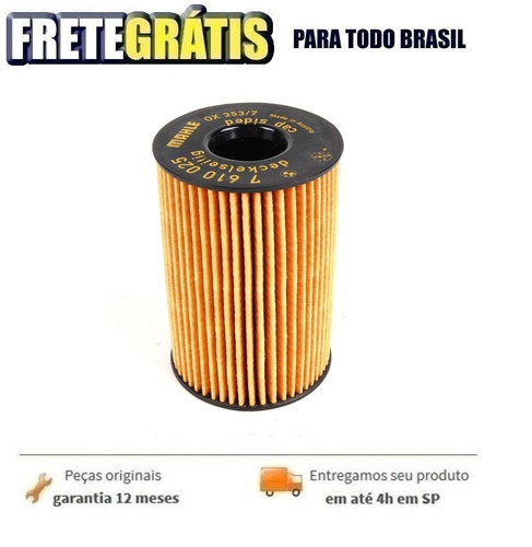 filtro de oleo do motor bmw 650i 4.4 v8 2011-2015 original