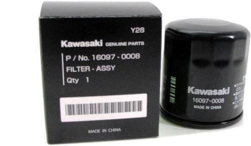 filtro de oleo kawasaki original 16097-0008 z750 ninja 300