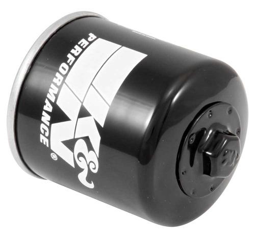 filtro de óleo k&n para kawasaki zx er6 z750 z1000