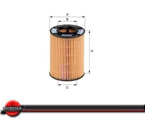 filtro de oleo mercedes classe b 180 09/... hengst e146hd108