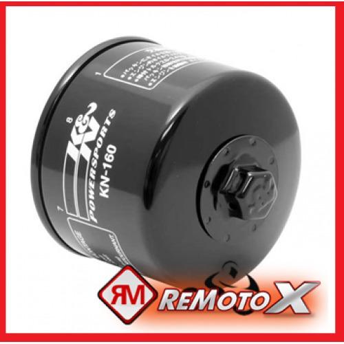filtro de oleo modelo original k&n kn160 bmw k-1200