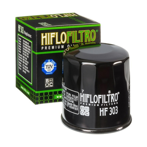 filtro de oleo ninja 300/z750/z800/z1000 hiflofiltro hf303
