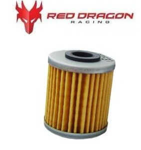 filtro de oleo red dragon - kawasaki kxf 250 /suzuki rmz 450