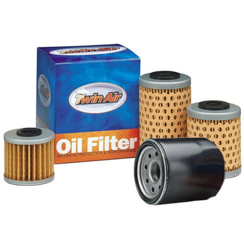 filtro de óleo twinair honda trx + kawasaki kx/kfx + polaris