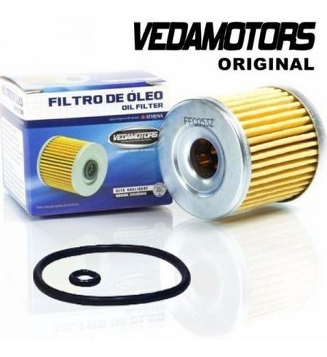 filtro de oleo vedamotors hda, xr/cbx250/cb/xre 300/ nx400