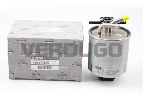 filtro de petroleo nissan navara euro 5  - original