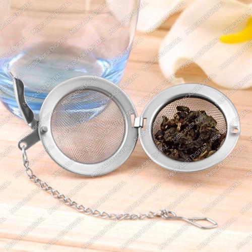 filtro de té en forma de bola con malla / infusor + envío