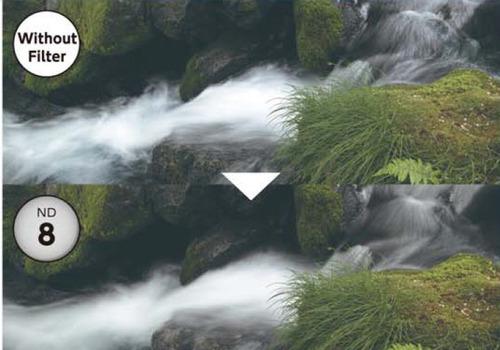 filtro densidad neutra marumi