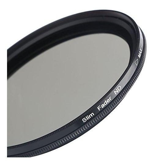 Ajustable densidad neutra filtro nd2-400 52mm para Nikon AF Nikkor 28mm 2.8d