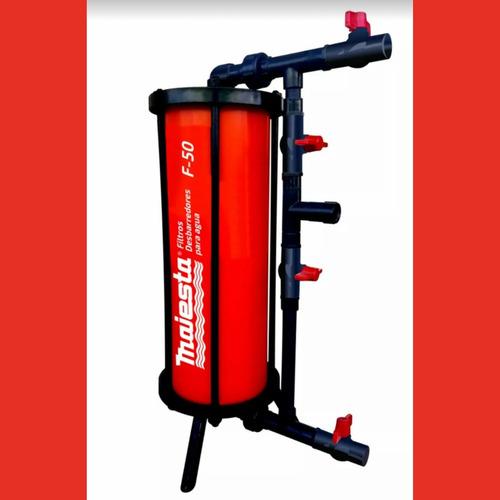 filtro desbarrador de agua para el hogar  50lts/mts majesta
