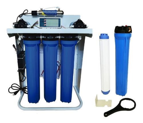 filtro desionizador de agua osmosis inversa 600 galones dia