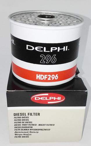 filtro diesel secundario hdf 296  original delphi