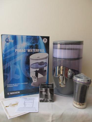 filtro dispensador agua pimag waterfall nikken japonés envío