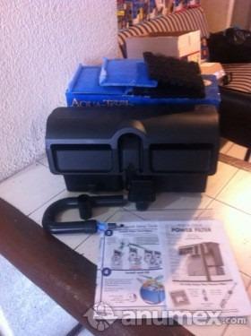 filtro doble cascada marca aqua-tech nuevos 60 galones 240 l