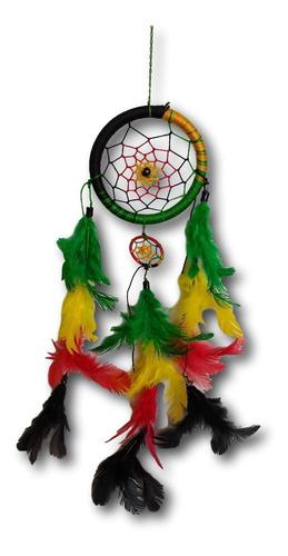 filtro dos sonhos com penas reggae ref: 0298