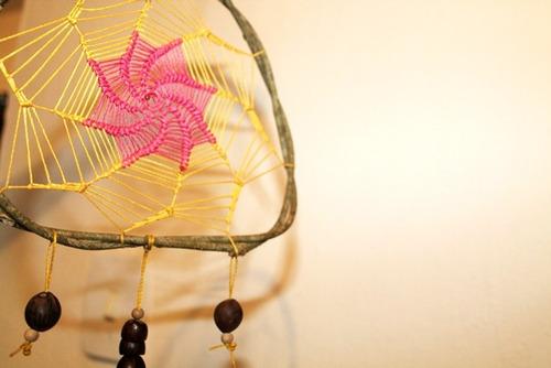 filtro dos sonhos - dreamcatcher - totalmente artesanal