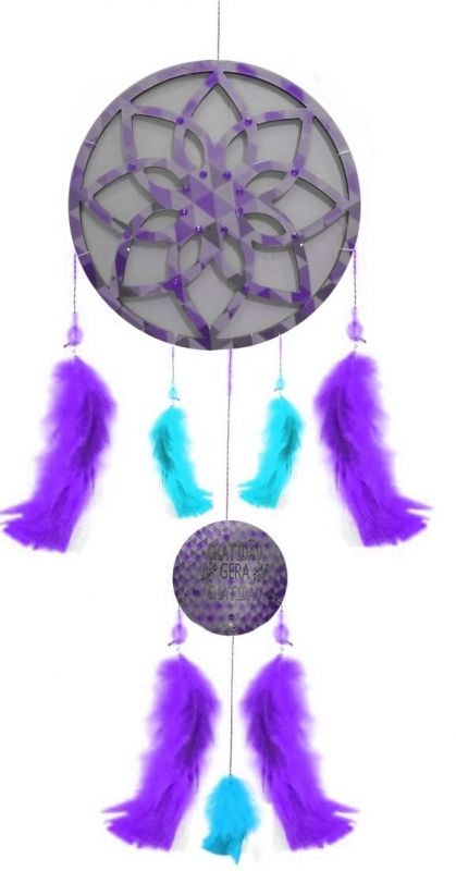 Filtro Dos Sonhos E Mandala Com Frases Lilás R 4305 Em Mercado Livre