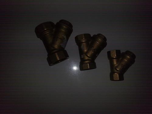filtro en yee valvula fundición pacifico 1/2 strainer de dn