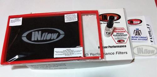 filtro esportivo inflow fiat bravo 1.8 16v e-torq hpf3600