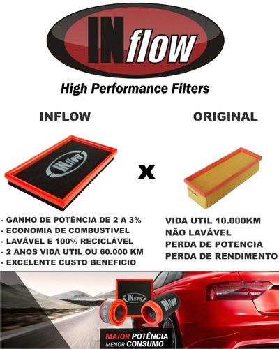 filtro esportivo inflow vw up! 1.0 tsi polo 200 tsi hpf4280